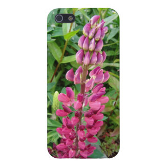Wild Lupine iPhone 5 Cover