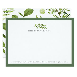 Wild Meadow | Business Stationery Flat Card