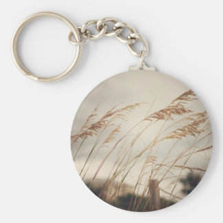 Wild Oats to Sow Basic Round Button Key Ring