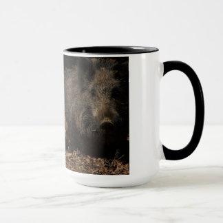 Wild pig mug