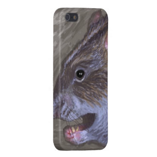 wild rat abstract iPhone 5 case