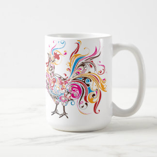 Wild Rooster Coffee Mugs