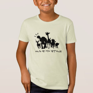 Wild Safari Animals T-Shirt