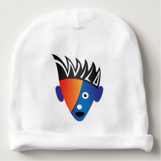 Wild. Super cool, crazy and funny baby hat Baby Beanie
