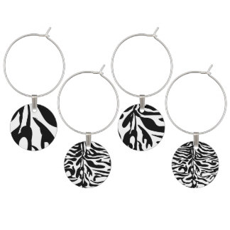 Wild Thing Animal stripes Wine Charm