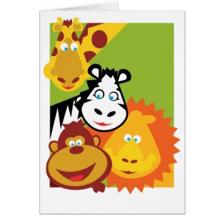 Wild Thing - Card - Thanks!