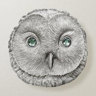 WILD THINGS: Silver Owl Décor Cushion