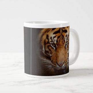 Wild Tiger Face Jumbo Soup or Coffee Mug