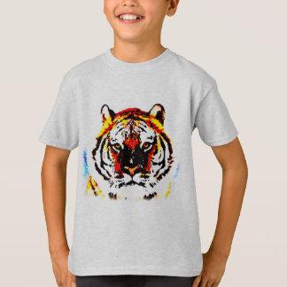 Wild Tiger Pop Art T-Shirt
