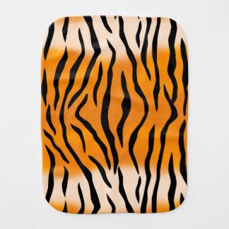 Wild Tiger Stripes Pattern Burp Cloth