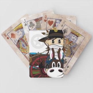 Wild West Cowboy Sheriff Playing Card