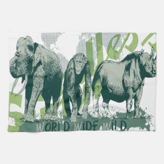 Wild Wild Habitat Tea Towels
