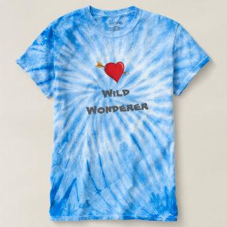 Wild Wonderer Tie Dye Womens T Shirt