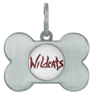 Wildcats Pet Tags