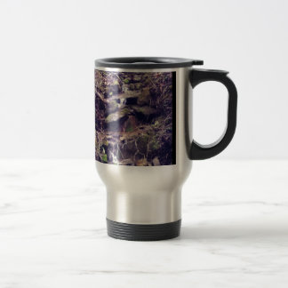 Wilderness Waterfall Travel Mug