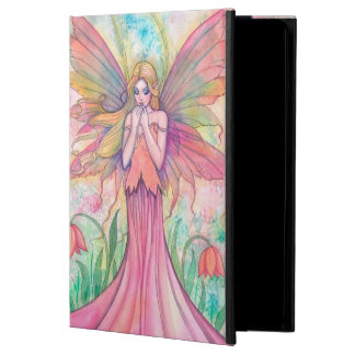 Wildflower Pink Fairy Fantasy Art iPad Air Cover