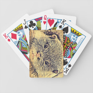 Wildlife Cuddly Cute Sea Animal  baby otter Bicycle Playing Cards