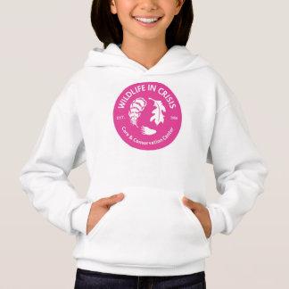 Wildlife in Crisis girls hoodie