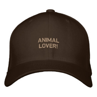 Wildlife Supporter Embroidered Hat