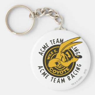 Wile E. Coyote Acme Team Racing Key Ring