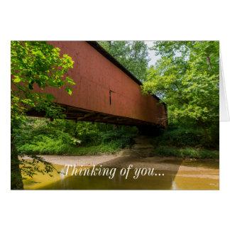 Wilkens Mill Covered Bridge Card