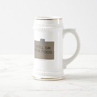 Will DM For Food Beer Stein