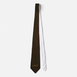 WILL Name-branded Personalised Neck-Tie Tie