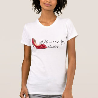 Will work for shoes. tshirt