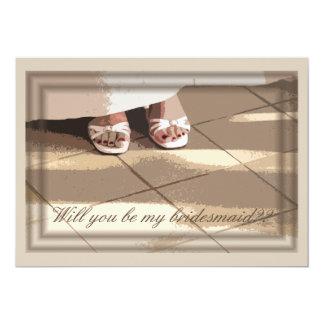 Will You Be My Bridesmaid? Bridesmaids Card