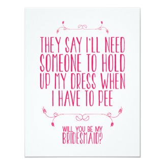 WILL YOU BE MY BRIDESMAID? | CARD