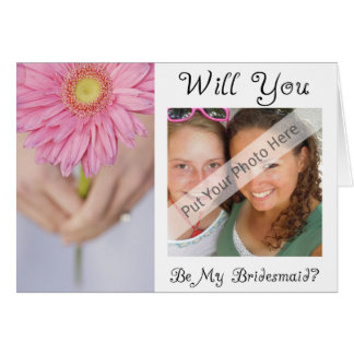 Will You Be My Bridesmaid Card-Personalized Card