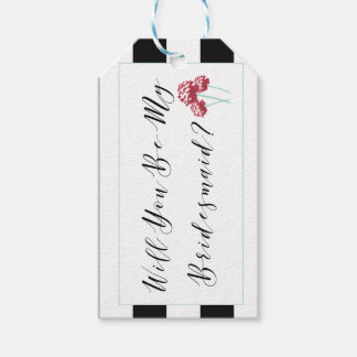 Will You Be My Bridesmaid Proposal Gift Tags
