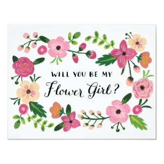Will You Be My Flower Girl