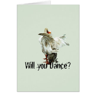 Will you Dance? Card