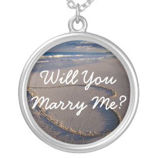 Will You Marry Me Proposal Necklace