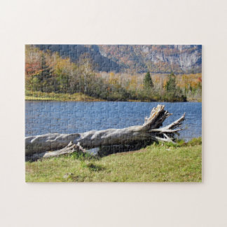 Willey's Pond, Saco River, North Conway, N.H. Jigsaw Puzzle