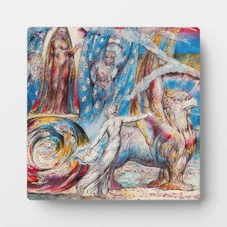 William Blake Beatrice Plaque