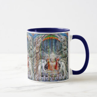 William Blake: Before the Divine Throne Mug