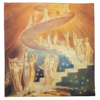 William Blake Jacob's Ladder Napkins