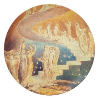 William Blake Jacob's Ladder Plate