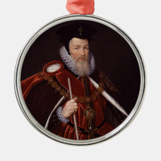 William Cecil 1st Baron Burghley Christmas Ornament