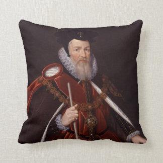 William Cecil 1st Baron Burghley Cushion
