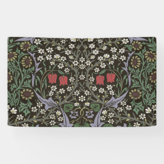 William Morris Blackthorn Tapestry Art Print Banner