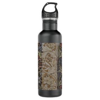 William Morris Bluebell Fabric Botanical Print 710 Ml Water Bottle