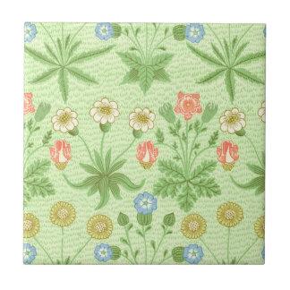 William Morris Daisy Pattern Tile
