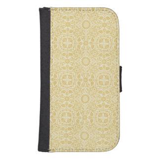 William Morris Ecru Floral Pattern Wallet Case