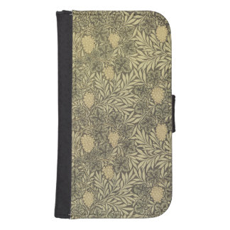 William Morris Floral Pattern with leaves Samsung S4 Wallet Case