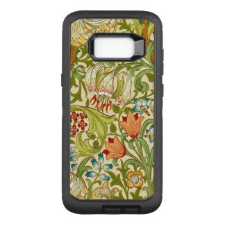William Morris Golden Lily Vintage Pre-Raphaelite OtterBox Defender Samsung Galaxy S8+ Case