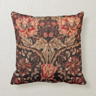 William Morris Honeysuckle Pattern Cushion