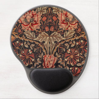 William Morris Honeysuckle Pattern Gel Mouse Pad